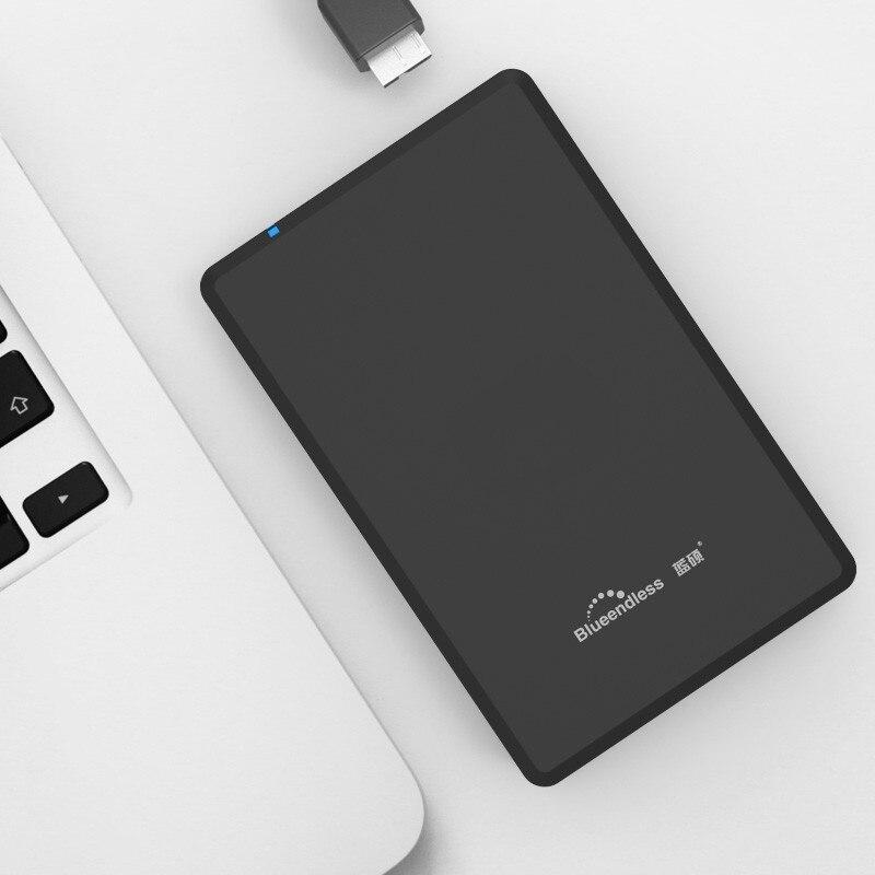 Blueendless HDD 2,5 дюймов пластиковый USB 3,0 Sata внешний жесткий диск 250 ГБ/2 ТБ жесткий диск hd externo disco duro externo жесткий диск
