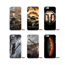 For Samsung Galaxy S3 S4 S5 MINI S6 S7 edge S8 S9 Plus Note 2 3 4 5 8 Accessories Phone Shell Covers world of tanks
