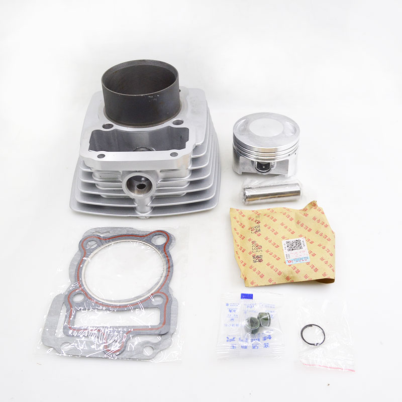 High Quality Motorcycle Cylinder Kit 67mm Bore 198CM3 For Zongshen CG200 CG 200 Air-cooled Engine Spare Parts motorcycle cylinder kit 67mm bore for shineray cg250 cg 250 250cc air water double cooled engine spare parts