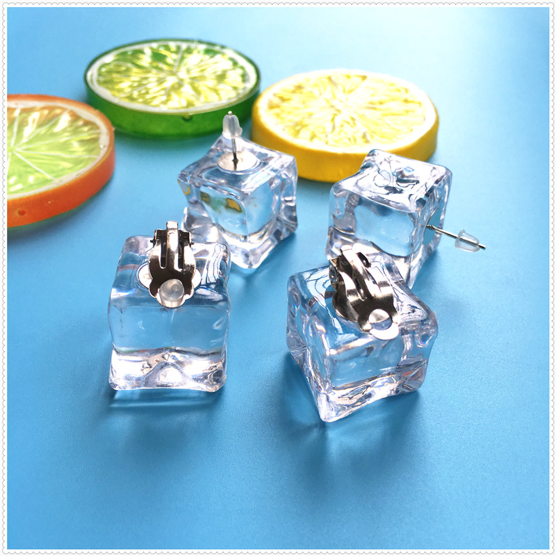 Ice Cubes Earrings 4