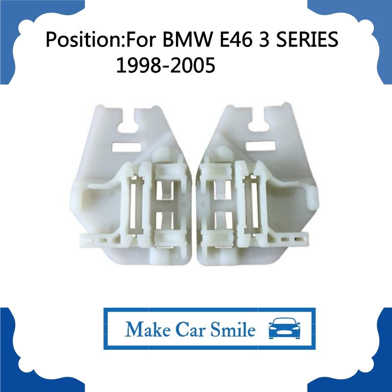 BMW 3 Série E46 Arrière Extérieure Gauche Arrière fenêtre régulateur LH 1998-2005
