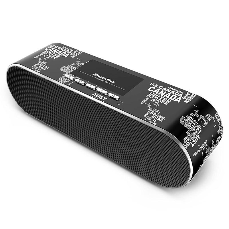 2017 Hot Sale Original Bluedio AS Mini Bluetooth Speaker Wireless Loudspeaker with Microphone For Xiaomi Phone