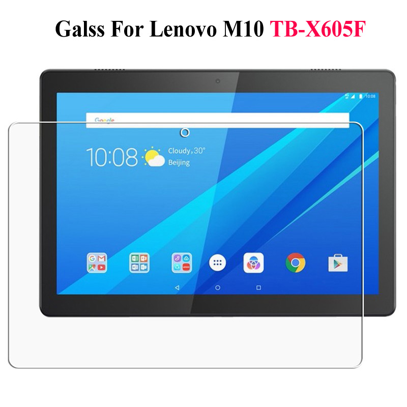 9H Tempered Glass For Lenovo Tab M10 P10 10.1 Inch Screen Protector Film For Lenovo Tab E7 E8 E10 Screen Protective Glass Film