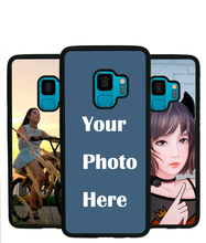 For Samsung S9 case Custom Personalized Make your Photo pattern images Hard Body Soft Side Phone Case Cover huaweinova3 case custom personalized make your photo pattern images hard body soft side phone case cover
