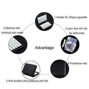 Image 5 - Модная противопылевая поликарбонатная коробка для сигарет IQOS для сигарет Lil, защитный чехол для сигарет