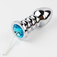 Électro Thérapie de Sexe Anal Plug Électrique Choc En Métal Butt Plug Électrique Stimulation sex Toys Accessoire