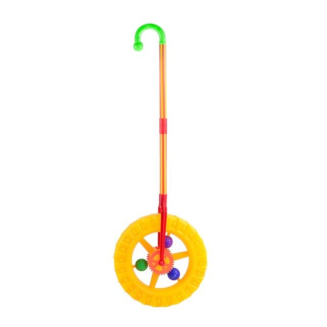 Bebé Pedal caminador bebé rueda de empuje coche rompecabezas con campana sonido rueda de juego niño aprender a caminar juguete regalo temprano juguete educativo