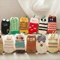 3D Baby Socks,Coral Fleece Girls Boys Socks Thick Cartoon Warm Socks for kids, Anti Slip Floor Socks For Kids