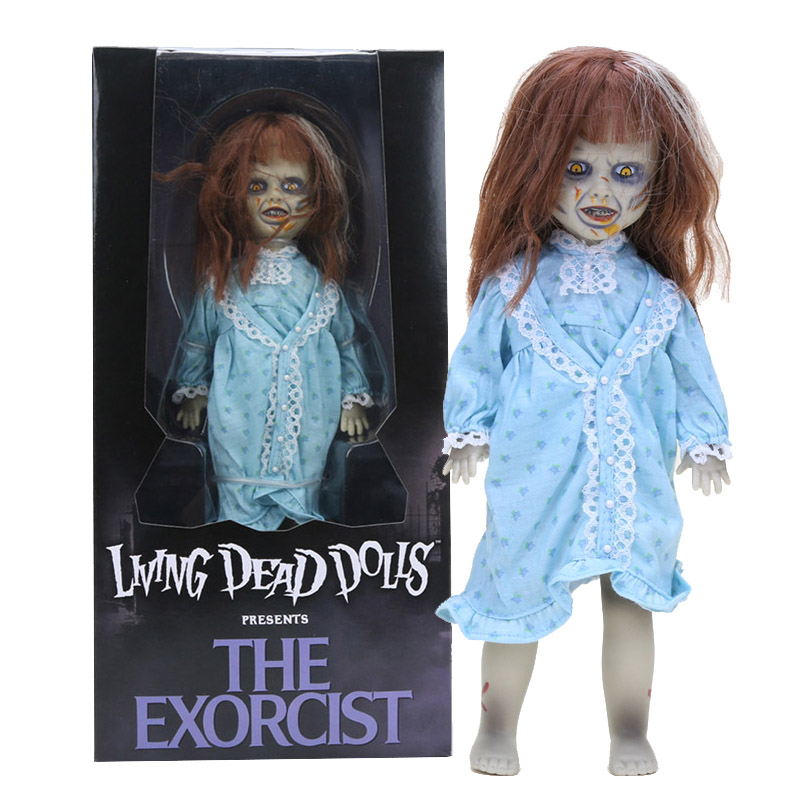 10'' 25cm The Exorcist Living Dead Dolls LDD Presents Terror Film PVC Action Figure Toys Halloween Decorations Gifts