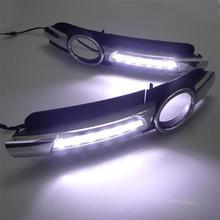 Automotive LED Traffic Lamp Fog for Audi A6L C6 05-08year Day Lights C6LED