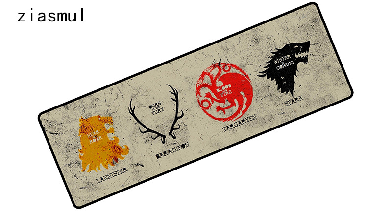 Game of Thrones mousepad 900x300x4mm pad to mouse notbook computer mouse pad hot sales gaming padmouse gamer keyboard mouse mats