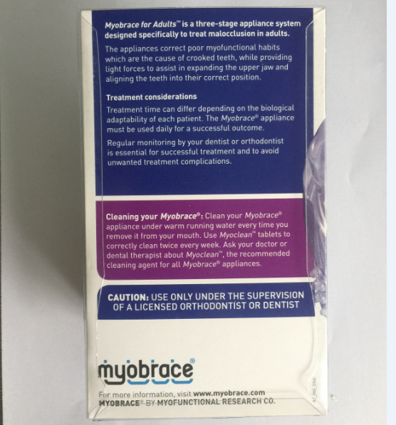 Купить с кэшбэком A1 dental teeth trainer adult use from Australia MRC Brand