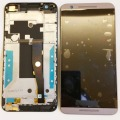 Para htc desire e9s screen display lcd de toque digitador quadro assembléia capa original