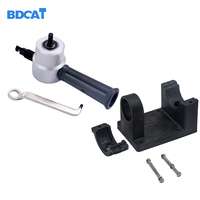 BDCAT Drop Shipping Newest Nibble Metal Cutting Double Head Sheet Nibbler Saw Cutter Tool Drill Attachment