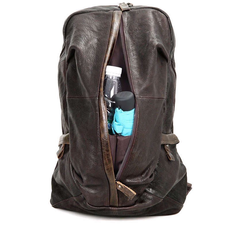 school leather laptop rucksack (8)