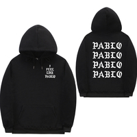 2018 sudaderas hombre Pablo hoodies sweat homme Hip Hop fleece Tracksuit Sweatshirts off white i feel like pablo sweatshirts men