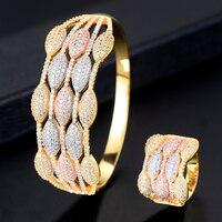 missvikki Bohemian Vintage Retro Silver Bangles Ring Jewelry Set Women Classic Handmade Gold Trendy Bridal Wedding Jewelry