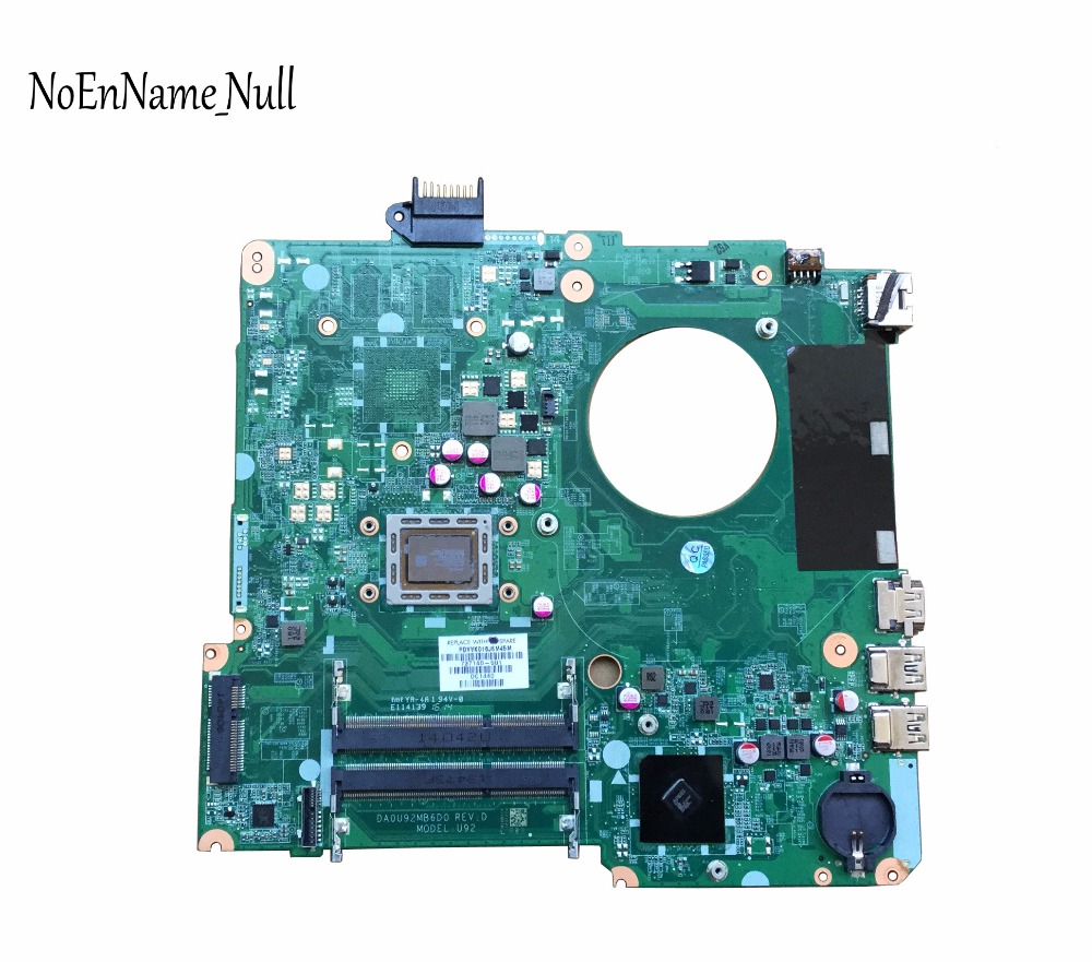 737140-501 737140-001 Free Shipping FOR HP PAVILION 15-N Laptop Motherboard DA0U92MB6D0 REV:D A8-4555M Mainboard 100% Tested