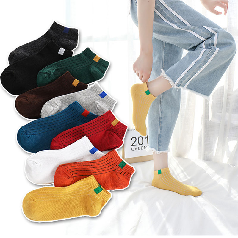 Buy Cheap New Arrival Fashion Mens Socks 5 Colors Simple Design Summer Casual Cotton Scoks Men Hot Sale Always Buy Good Underwear & Sleepwears
