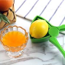 Green Lemon Squeezer Kitchen Tools Plastic Orange Fruit Manual Juicers Reamers Fast Handle Press Multifunctional Tool