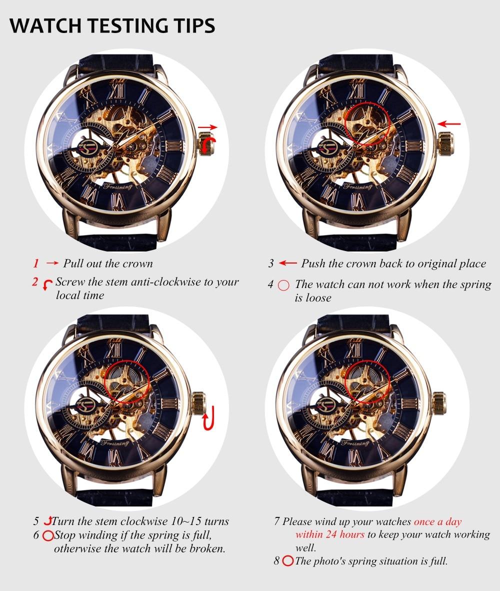Winner New Number Sport Design Bezel Golden Watch Mens Watches Top Brand Luxury Montre Homme Clock Men Automatic Skeleton Watch 29