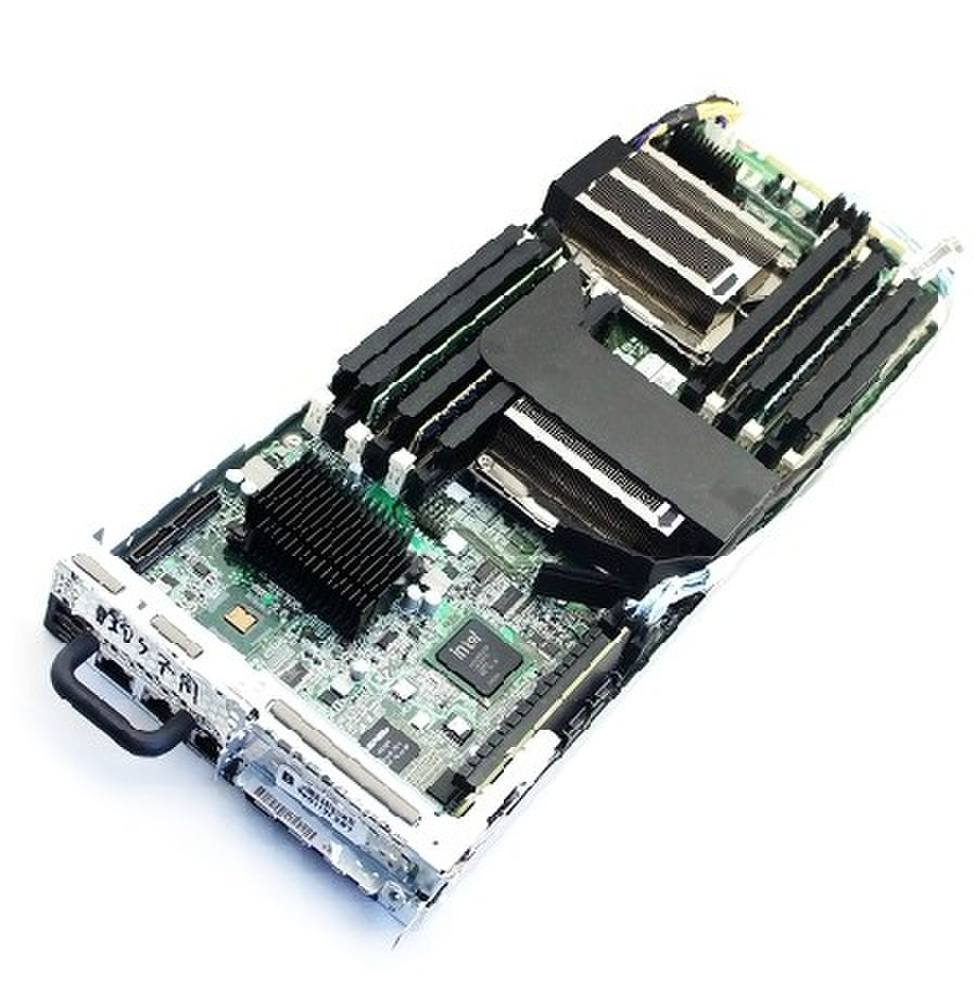 Original C6100 Blade Motherboard Dual Xeon 1366 Motherboard With Heat Sink