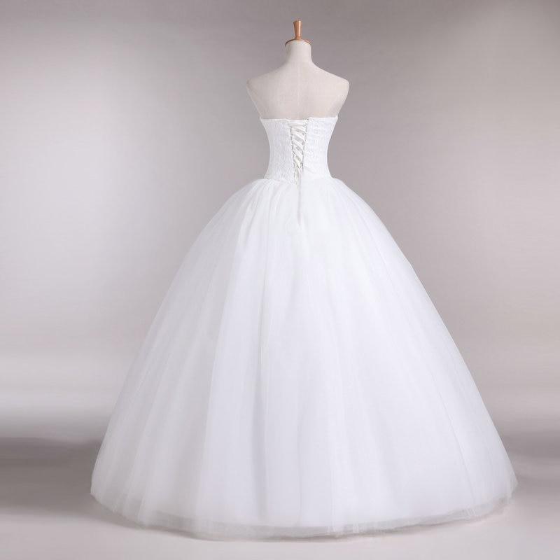 Νέα γραμμή A Lace Sweetheart από τον ώμο - Γαμήλια φορέματα - Φωτογραφία 2