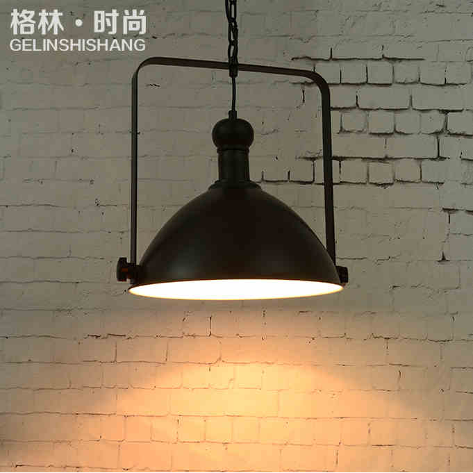 Fashion Retro Personalized Restaurant Chandelier American Loft Industrial Vintage Coffee Bar Decoration Light Free Shipping
