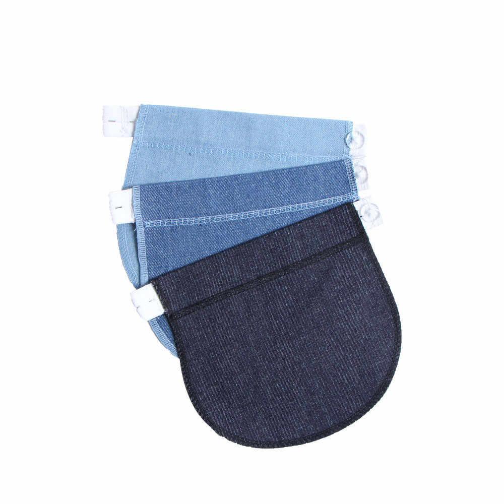Premamá embarazo posparto cinturón del vientre banda de embarazo extensor para pantalones de cintura elástica pantaloni premaman bragas embarazadas