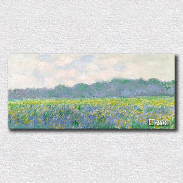 Campo de tulipanes en Holanda Claude Monet artes de alta calidad ...