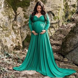 Image 4 - Платья для беременных для фотосессии реквизит для фотосъемки беременных