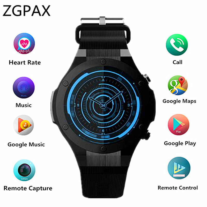 H2 Bluetooth Smart Watch MTK6580 ROM 16GB RAM 1GB 5MP Camera Heart Rate Smartwatch GPS WIFI 3G Smart Wristwatch For Android IOS no 1 d6 1 63 inch 3g smartwatch phone android 5 1 mtk6580 quad core 1 3ghz 1gb ram gps wifi bluetooth 4 0 heart rate monitoring