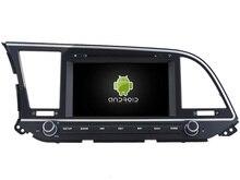 Android 7.1 CAR DVD player FOR HYUNDAI ELANTRA 2016 car audio gps stereo head unit Multimedia navigation WIFI SWC BT