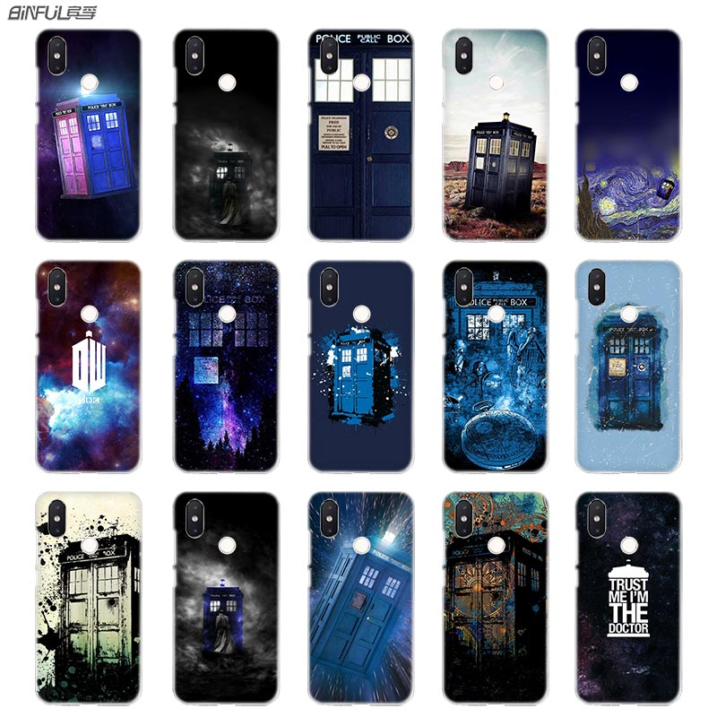 Half-wrapped Case Have An Inquiring Mind Binful Phone Case Transparent Hard Cover For Xiaomi Mi Redmi Note 7 5 4 3 4x 5a 6 Pro 64g S2 Plus Doctor Who