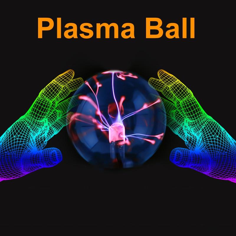 Jiaderui Novelty Night Light Magic Plasma Ball Night Lamp 3 4 5 6