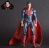 Crazy Toys Batman V Superman Dawn of Justice Figure Superman Action Figure Variant Toy 27cm