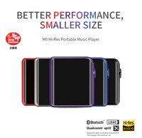 Xiaomi ShanLing M0 Hi Res Портативный музыкальный плеер LG 1,54 дюйма Сенсорный экран точные Управление Поддержка Bluetooth Беспроводной Эра
