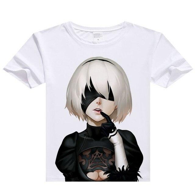 d3e9744b0 NieR: automata n. ° 9 tipo S n. ° 2 tipo B YoRHa camisetas juego ...