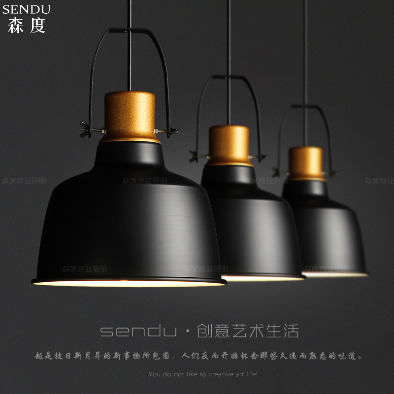 Vintage lamps pendant lights aluminum gold pot Industrial style indoor lighting restaurant bar light fixture осциллограф hantek 6022be usb storag 2channels 20 48msa s