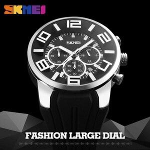 Image 4 - SKMEI reloj informal de cuarzo para hombre, camiseta nueva, resistente al agua, 2019 horas