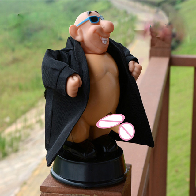 Creative Birthday Gifts DIRTY DICK Funny Novelty Trick Toys Voice Control Dolls FOOLS DAY Gift
