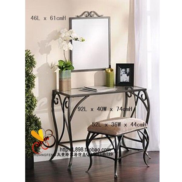 Consola espejo porche de entrada café mesa de café mesas muebles de ...