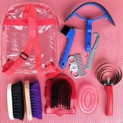 Инструмент для чистки лошадей, щетка для пыли, голова, тело лошади, чистка, верховая езда, шеврол, Гоночное оборудование, Paardensport C