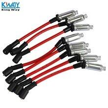 King Way-высокая производительность Свеча зажигания провода для 2000-2009 CHEVY GMC V8 48322R M8-48322
