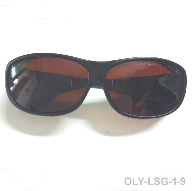 5e2429f5a5081 O.D 6 + 190-540nm e 800-1700nm óculos de segurança do laser para  multi-comprimentos de onda estilo 9