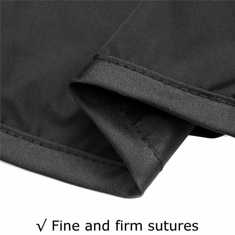 Imperméable à l'eau anti-poussière chaise remplacement auvent 150 CM 3 places jardin balançoire coussin 5 couleurs de rechange tissu couverture poussière couvertures