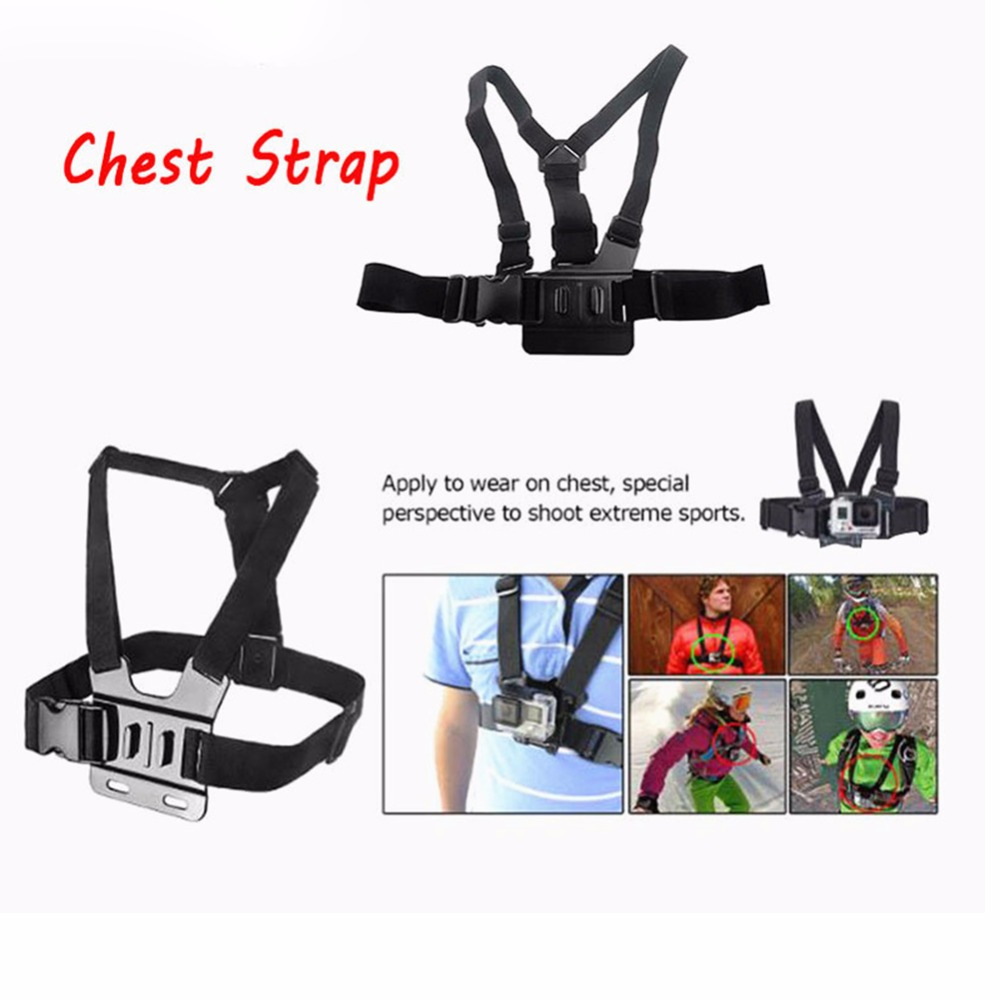 Chest Strap for for GoPro three Way stick