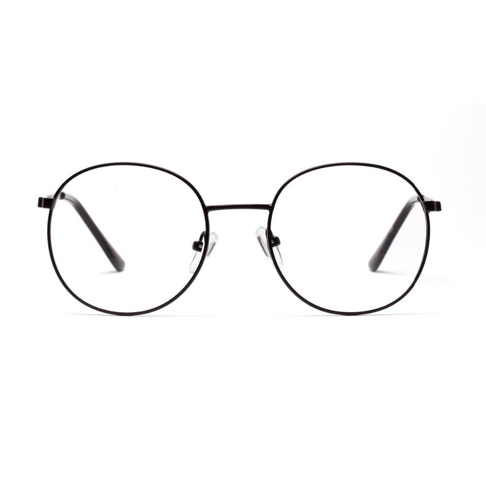 2464cc508b2 Vintage Round Eyeglasses Women Gold Frame Glasses Casual Eyewear Men Cheap  Eyeglass Clear Lenses Nerd Glasses Frame Gafas de ver-in Eyewear Frames  from ...