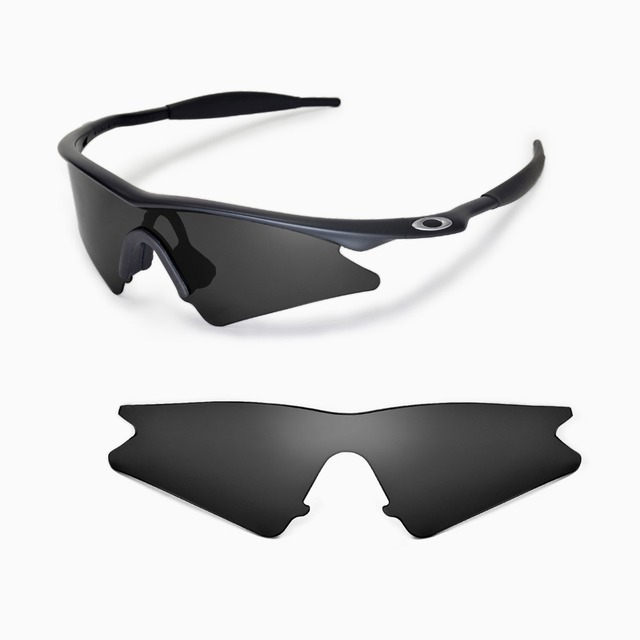 repuesto walleva polarizado lentes de gafas de sol oakley m frame sweep 5 colores disponibles - M Frame