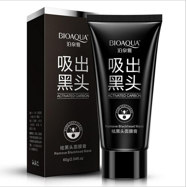 BIOAQUA Cabeza Negro Máscara Máscara de La Espinilla de Limpieza Profunda Negro Máscara de Tratamiento Del Acné Anti-Envejecimiento Mascarilla